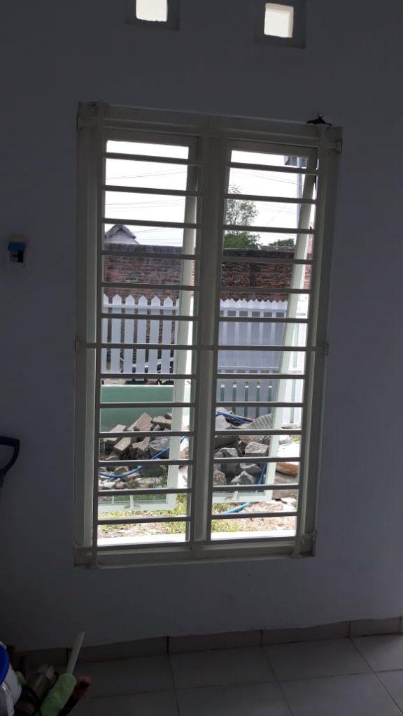 Teralis Jendela Minimalis Daerah Medoho Semarang
