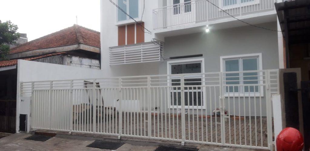 Pagar Lipat Garasi Semarang Bengkel Las Barokah Semarang