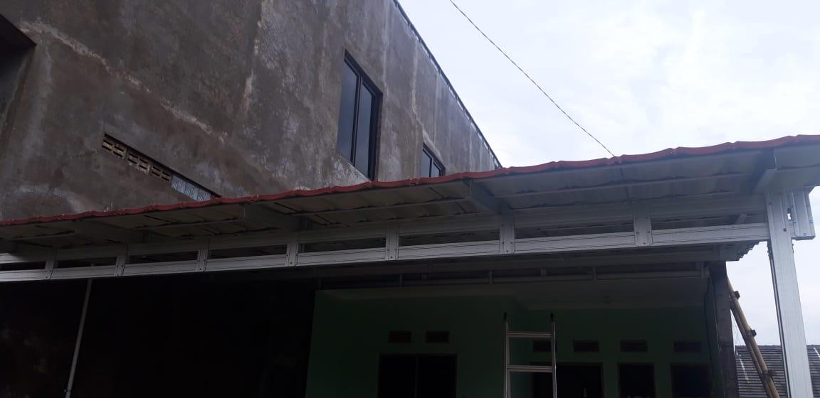 Kanopi Baja Ringan Atap Genteng Metal Sendang Mulyo Semarang