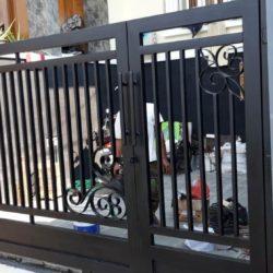 Pintu Minimalis Motif Kembang Papandayan Semarang Hanya 700 rb/meter