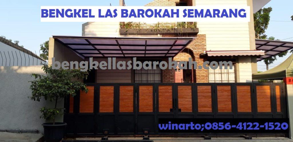 Kanopi Minimalis Atap Polycarbonate Twinlite Semarang jawa tengah