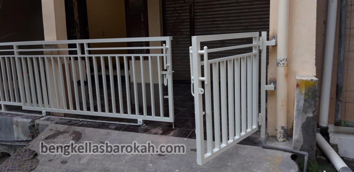 Pintu Dorong Dan Pagar Minimalis Semarang 450 Ribu/meter