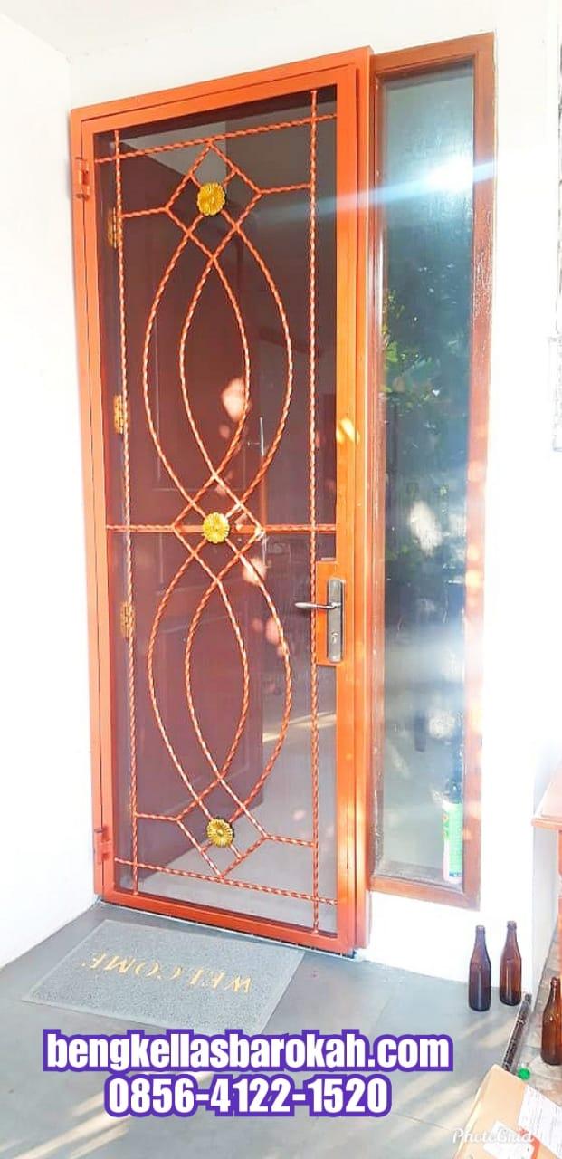 Pintu Pengaman Double Rumah Model Besi Tempa 2.5 Juta di ...