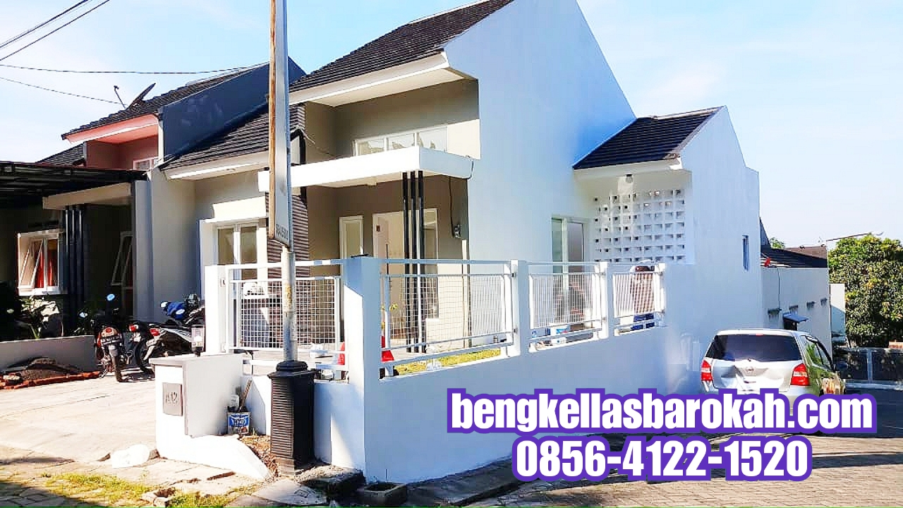 Pagar Minimalis Kombinasi Kawat Wiremesh Semarang 550 Ribu/meter