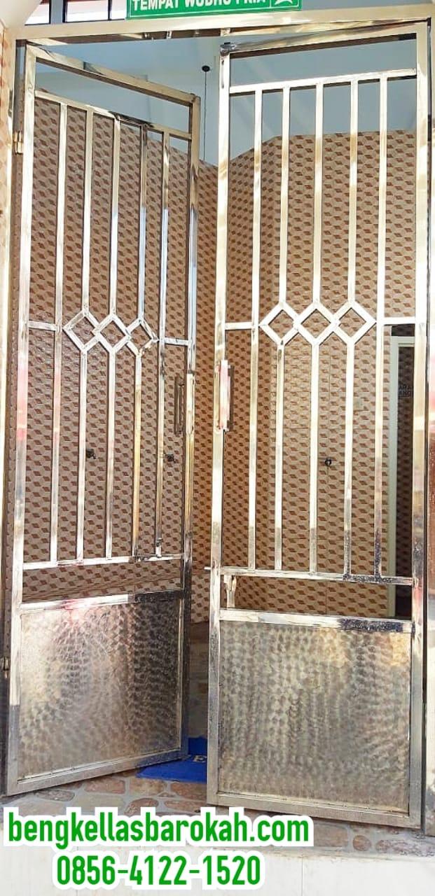 Pintu Swing Stainless di Semarang Hanya Rp 750 ribu/meter
